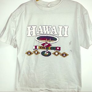 Vintage white Hawaii tee xl